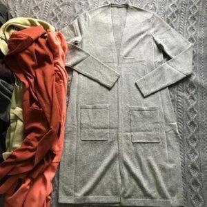 Theory wool cashmere cardigan